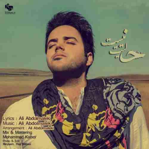 دانلود آهنگ حالیت نیست علی عبدالمالکی