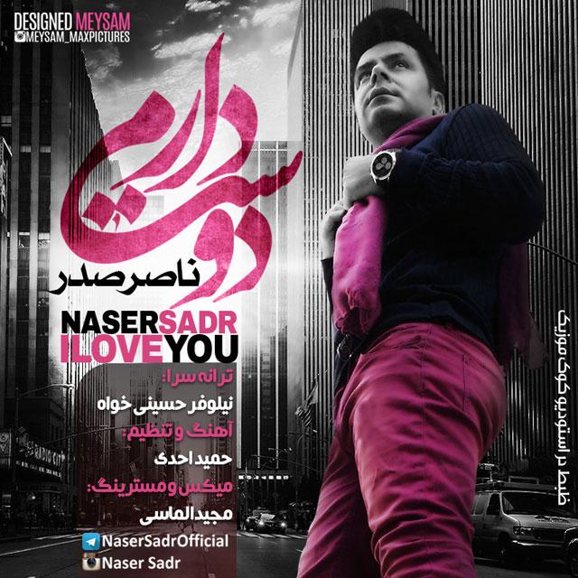 دانلود آهنگ دوست دارم ناصر صدر